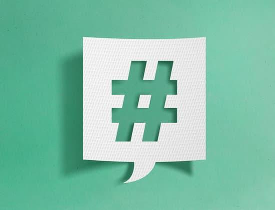 Les hashtags