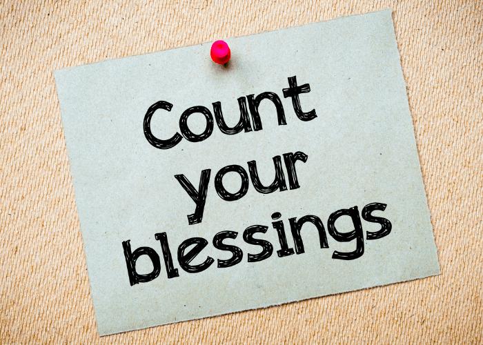 Connaissez-vous vos bénédictions ?